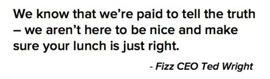 How Atlanta word of mouth marketing agency Fizz approaches business.
