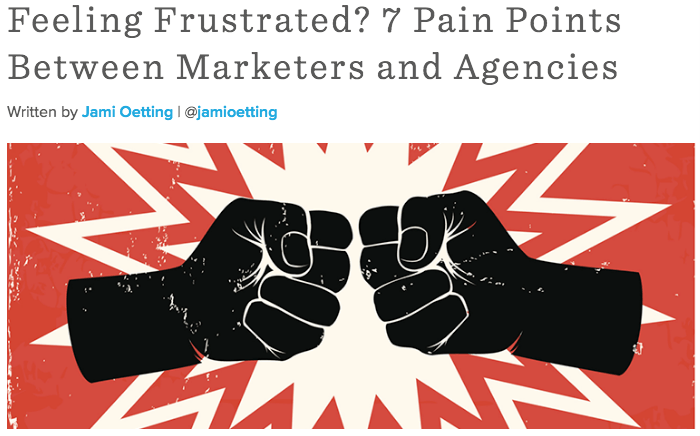 Pain Points Between Marketers and Agencies