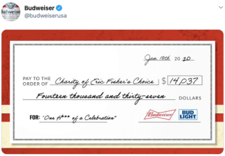 Budweiser; real-time marketing