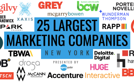 largest marketing companies in new york