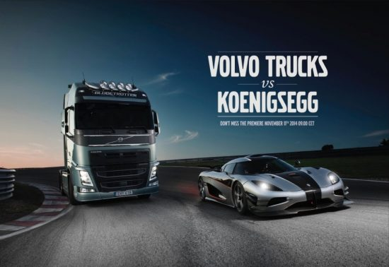 spoon content marketing with volvo trucks & koenigsegg
