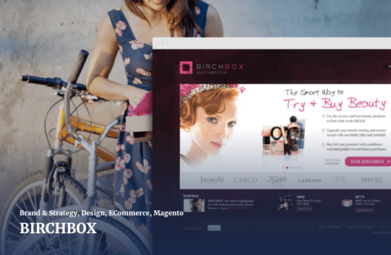 copious agency project with birchbox