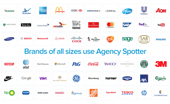 top companies using Agency Spotter to find marketing agency partners