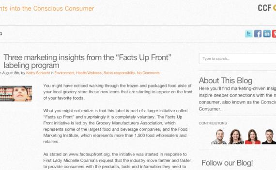 CCF Blog