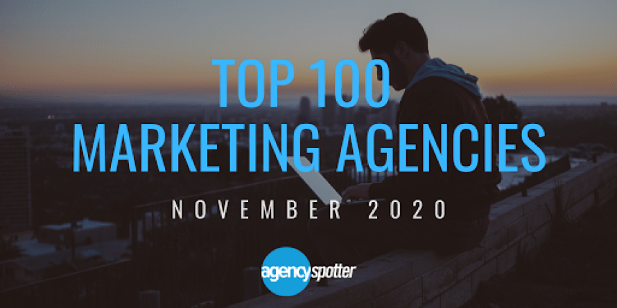 top 100 marketing agencies report