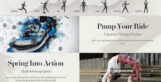 E-commerce agency Hello Monday created the new Reebok.com, a Webby Award winner