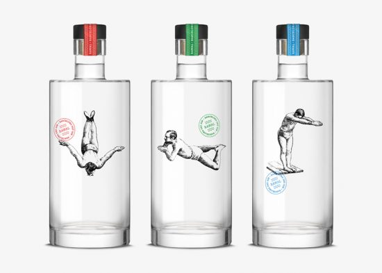 dorian gin rawal packaging design
