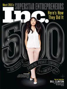 2015 Inc. Magazine 500 List