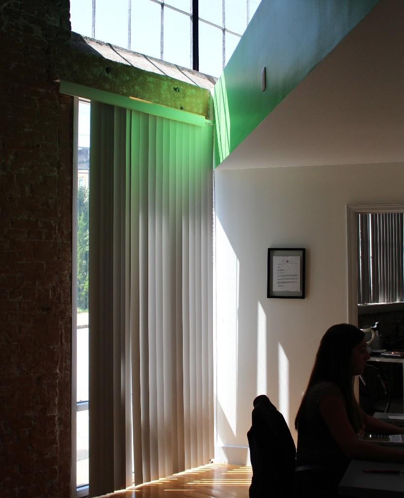 Sunshine in the Vert office