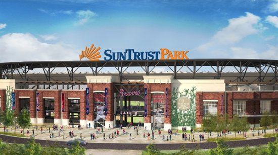 suntrust park bluecap marketing