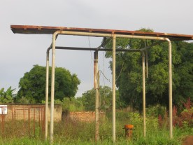 Broken Solar Power Borehole in Alebtong District