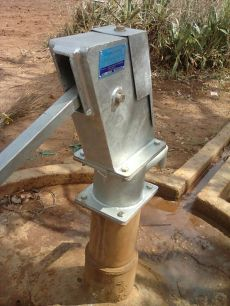 Newly rehabilitated Corner Apii borehole