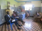 co2balance team meeting local government officials of Omoro subcounty, Alebtong District