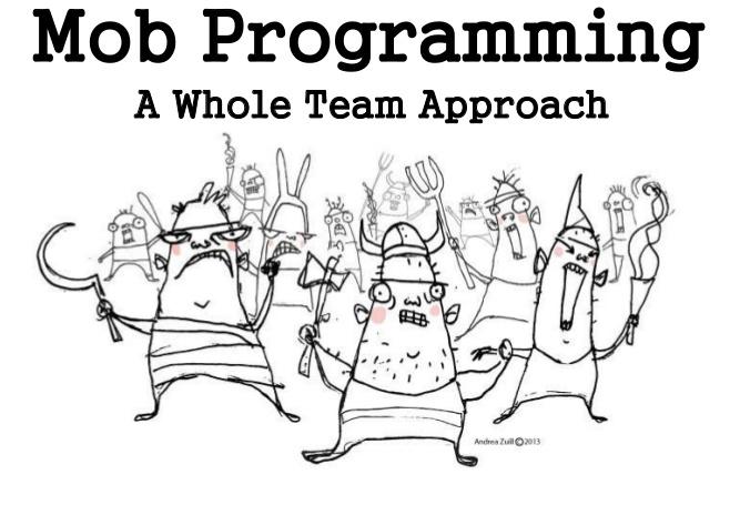 Coach agile, découvrez le Mob Programming