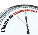 L'heure du changement