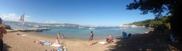 Panoramique île Sainte Marguerite