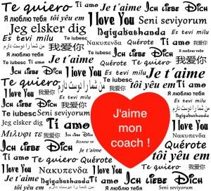 J'aime mon coach !