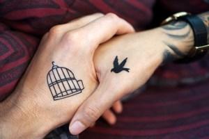Un couple d'amour est une source de liberté d'être