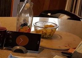 tablette pomodoro et salade de fruits
