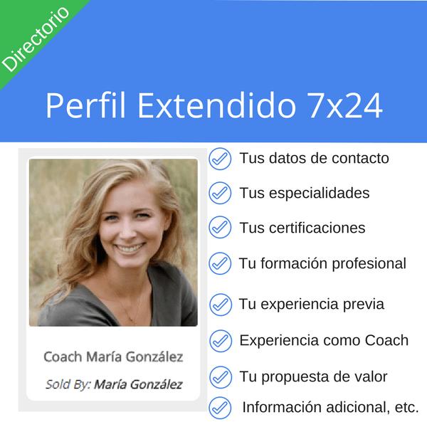 Perfil Extendido 7x24 -Coach7x24.com