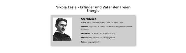 Teslabauplan