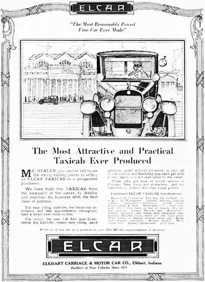 Elcar Motor Co., Elkhart Buggy Co., Elkhart Carriage