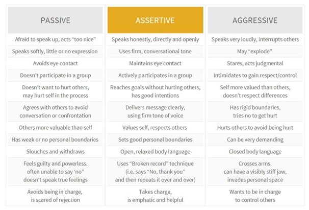 Power Tool Passive Aggressive Vs Assertive