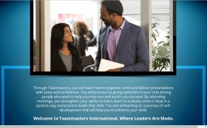 purpose of toastmasters