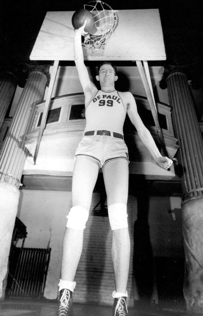george, mikan, jugador, baloncesto, biografía