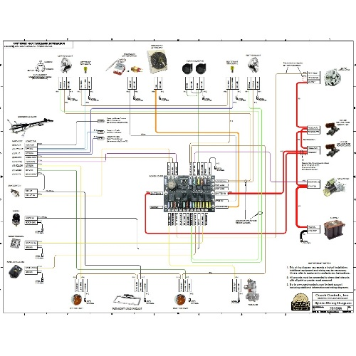 COUPE 23 SYSTEM WIRING DIAGRAM WDIAG 23 24 50 Coach