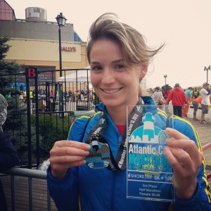 My medal and my Age Group Award