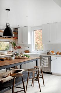 100 Stunning Farmhouse Kitchen Ideas on A Budget (73)