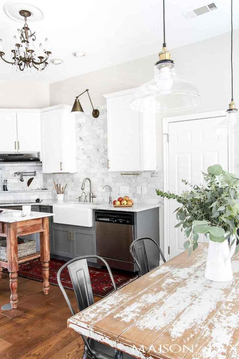 100 Stunning Farmhouse Kitchen Ideas on A Budget (96)