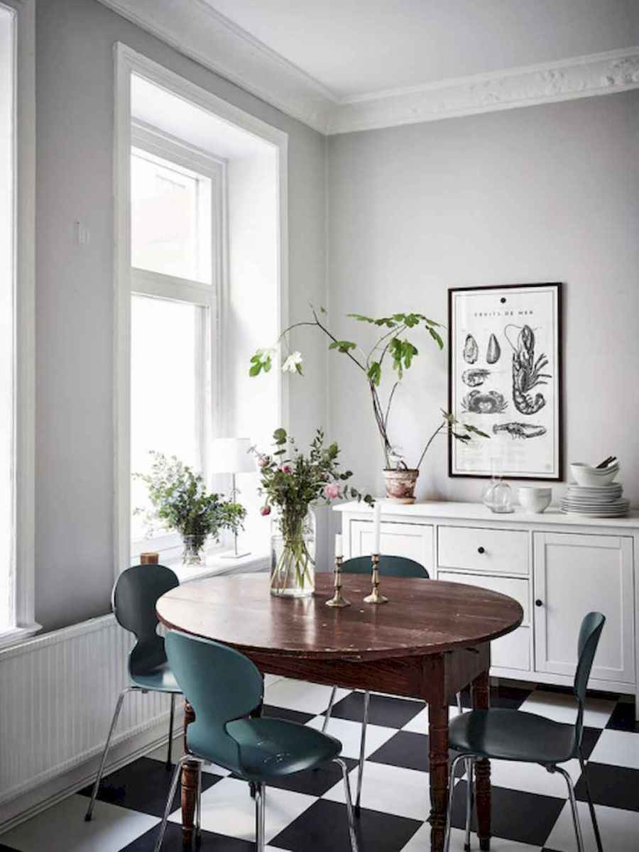 130 Small and Clean First Apartment Dining Room Ideas (125 ...
