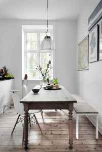 130 Small and Clean First Apartment Dining Room Ideas (127)