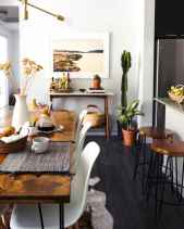 130 Small and Clean First Apartment Dining Room Ideas (18)