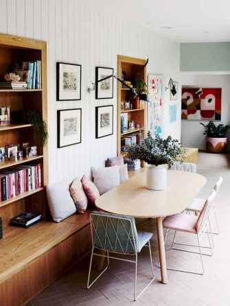 130 Small and Clean First Apartment Dining Room Ideas (3)