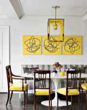 130 Small and Clean First Apartment Dining Room Ideas (33)
