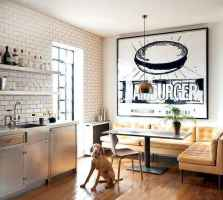 130 Small and Clean First Apartment Dining Room Ideas (36)