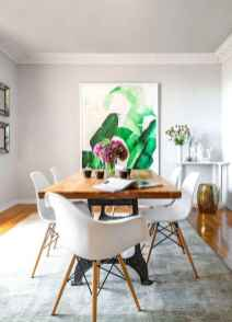 130 Small and Clean First Apartment Dining Room Ideas (61)