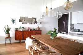 130 Small and Clean First Apartment Dining Room Ideas (9)