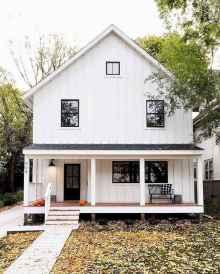 130 Stunning Farmhouse Exterior Design Ideas (107)