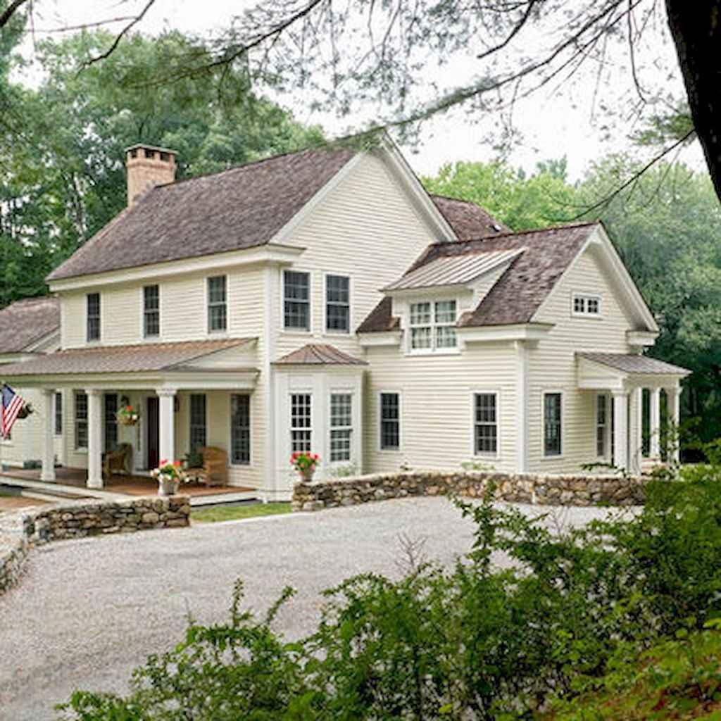 130 Stunning Farmhouse Exterior Design Ideas (121)