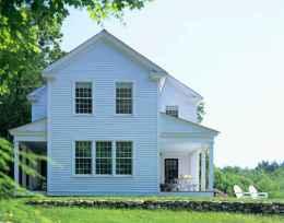 130 Stunning Farmhouse Exterior Design Ideas (131)