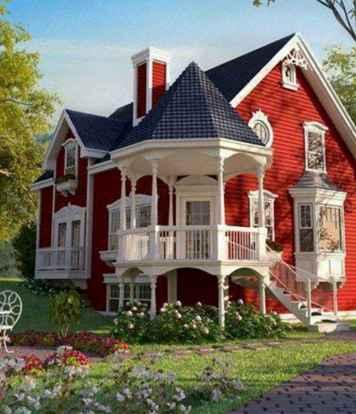 130 Stunning Farmhouse Exterior Design Ideas (21)