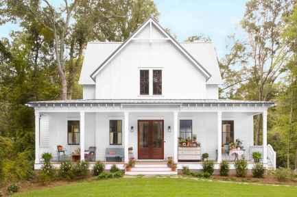 130 Stunning Farmhouse Exterior Design Ideas (23)