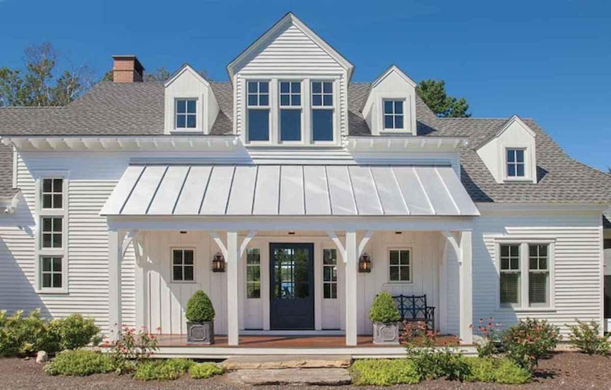 130 Stunning Farmhouse Exterior Design Ideas (26)