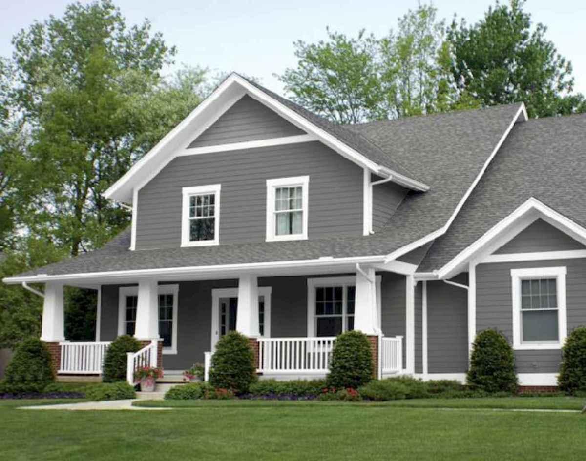 130 Stunning Farmhouse Exterior Design Ideas (3)