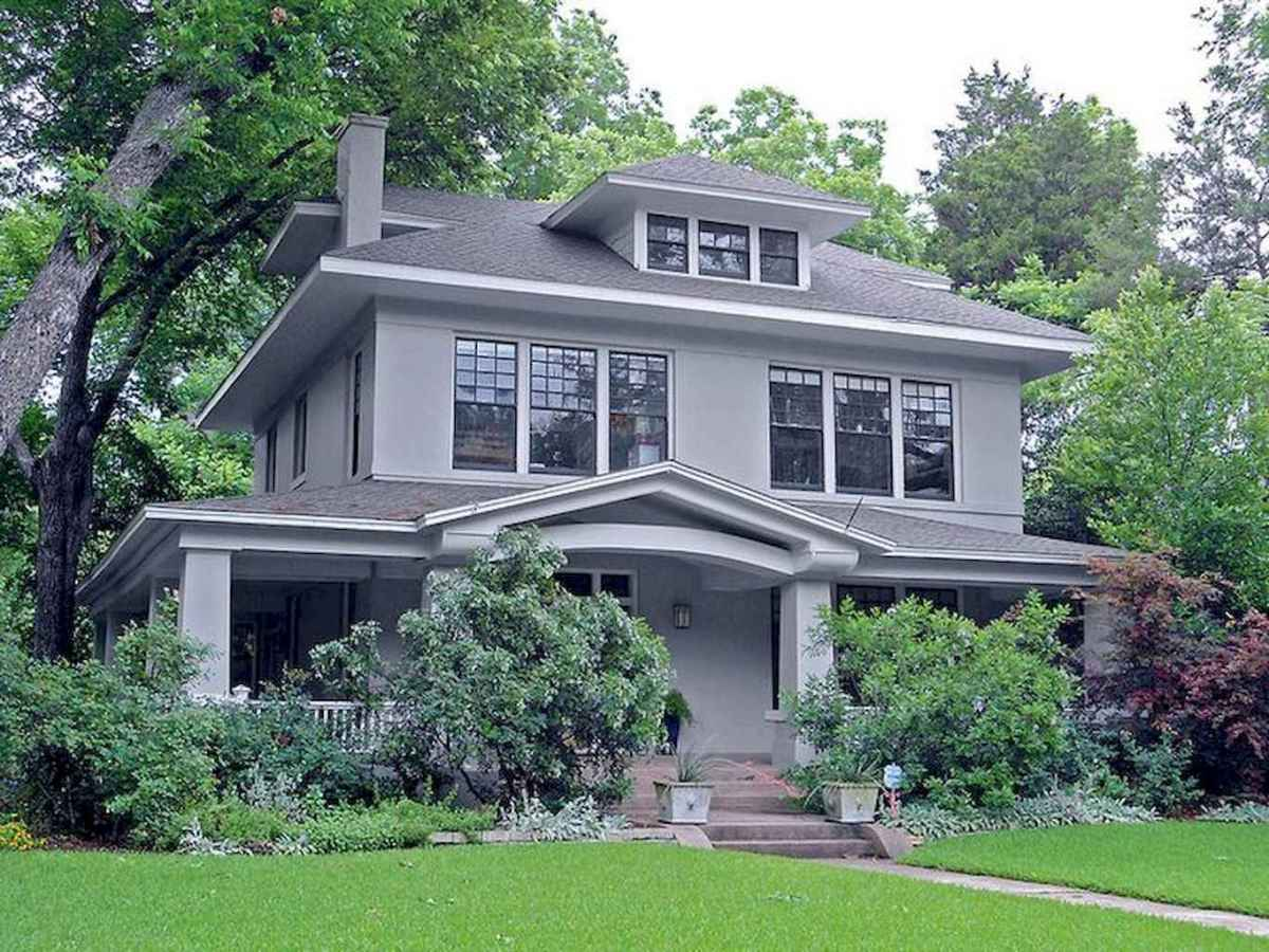 130 Stunning Farmhouse Exterior Design Ideas (32)