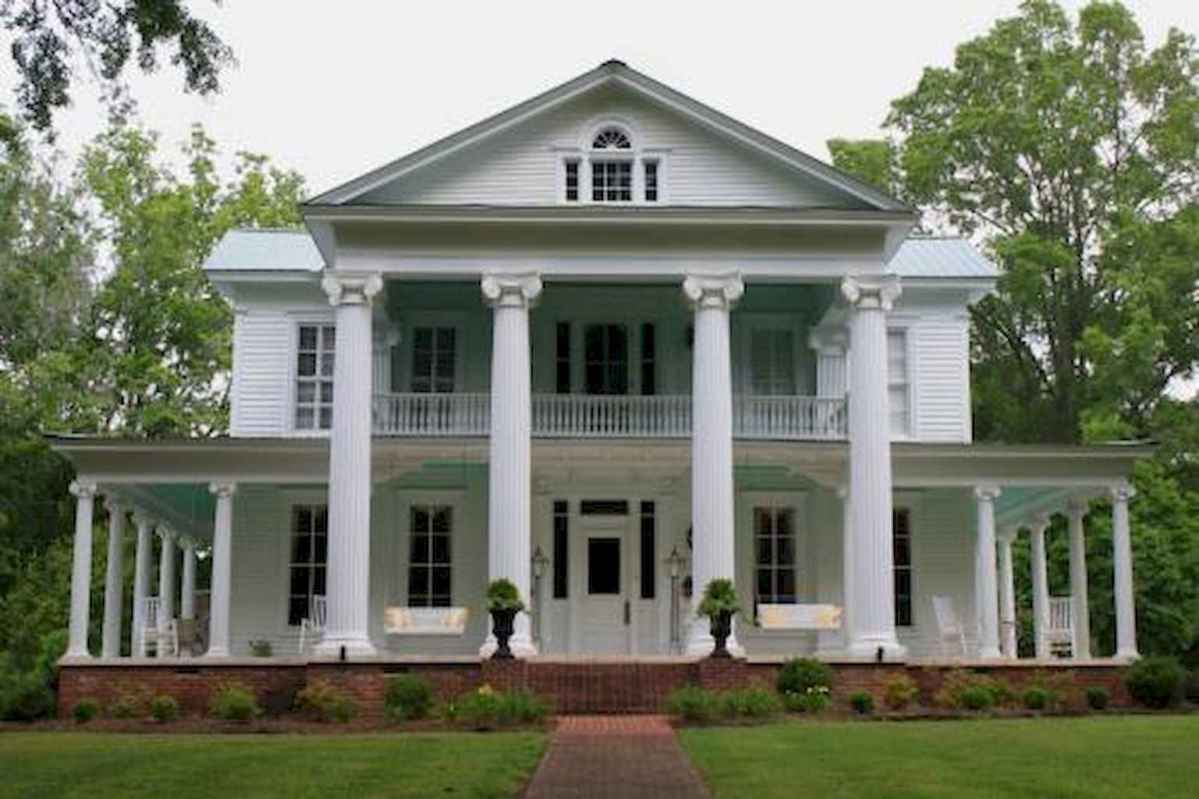 130 Stunning Farmhouse Exterior Design Ideas (39)